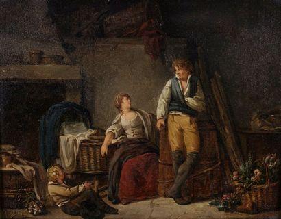 Louis Marc Antoine BILCOQ (Paris 1755 - 1838)....