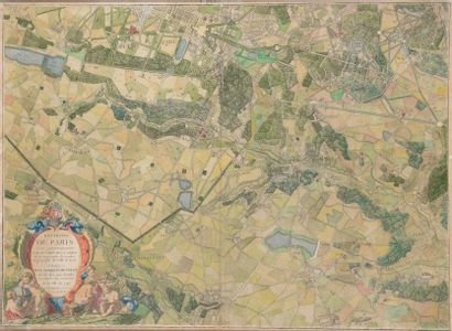 According to the Abbot of La GRIVE (Sedan, 1689 - 1757). Maps of the surroundings...