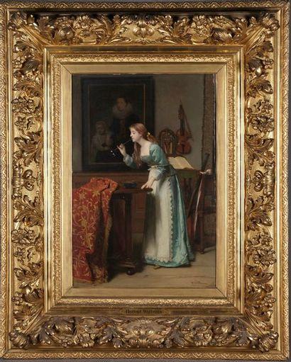 Florent WILLEMS (Liège, 1823 - Neuilly-sur-Seine,...