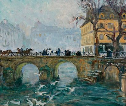 Lucien SIMON (Paris, 1861 - Sainte-Marine,...