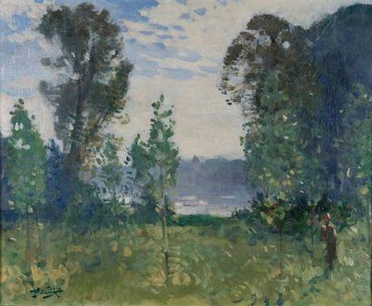Pierre-Eugène MONTÉZIN (Paris, 1874 - Moëlan-sur-Mer,...