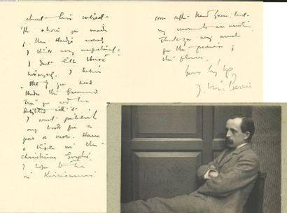 *James Matthew BARRIE (1860-1937) romancier...
