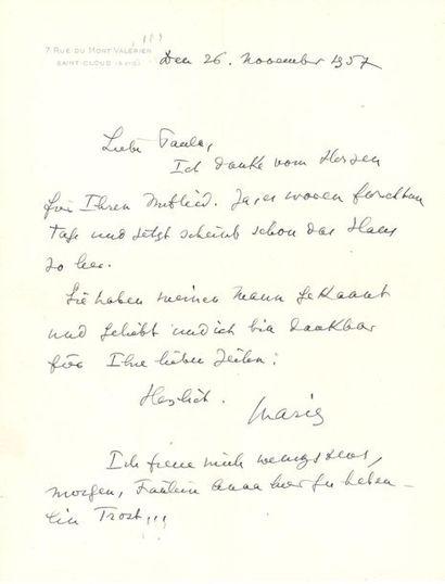 *Marie BONAPARTE (1882-1962) pionnière de...