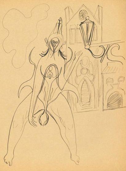 *Jacques AUDIBERTI (1899-1965). 96 dessins...