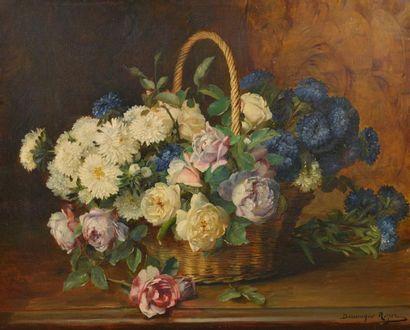Dominique ROZIER (1840-1901). Bouquet de...