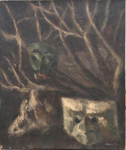 André FOY (1886/92-1953). Nature morte aux...