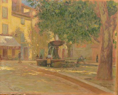 Paul Emile RIXENS (XIXe-XXe siècle). Place...