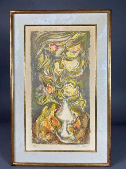 Jean JOYET (1919-1994). Bouquet de fleurs....