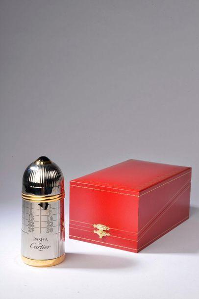 CARTIER.  Pasha (années 2000).  Édition limitée grand luxe commémorant l'an 2000...