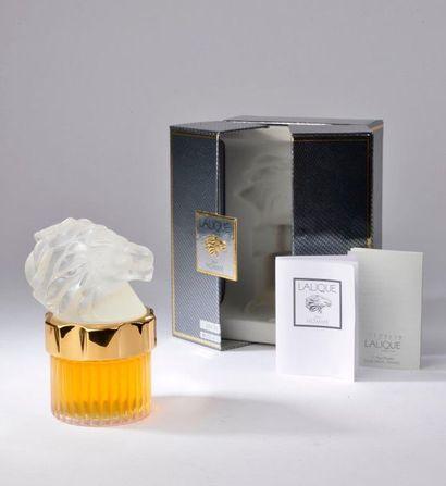 LALIQUE PARFUMS (Lalique pour homme).   Mascotte,...