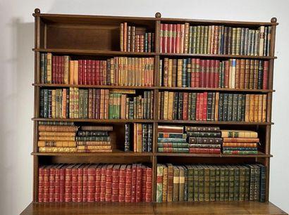 Important ensemble de livres reliés de la...