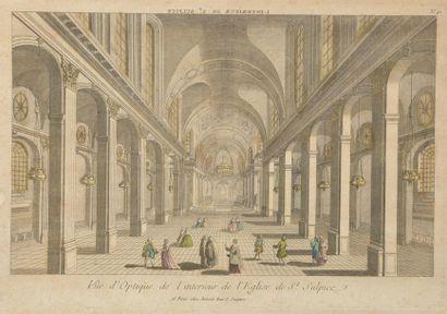 École française du XVIIIe siècle, gravée...