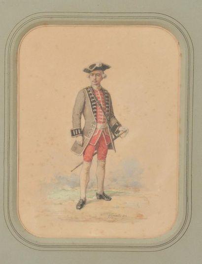 Félix François GENAILLE (1826-1880). Soldat...