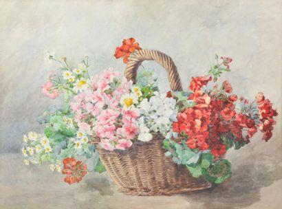 Alice GARCET MARCHEIX (XXe siècle). Bouquet...