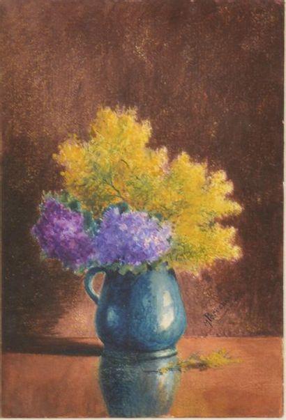 Maurice PERRONNET (1877-1950). Bouquet de...