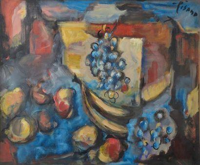 Edouardo PISANO (1912-1986). Nature morte...