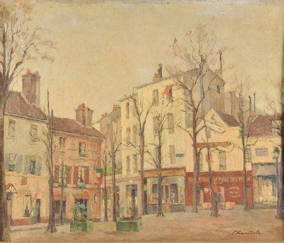 Lucien CHANTRELLE (1890-XXe siècle). La Place...