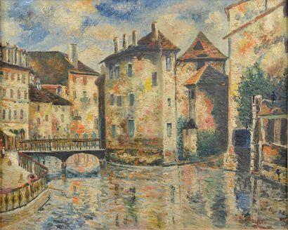 Émile BOYER (1877-1948). La Grande-Ile de...