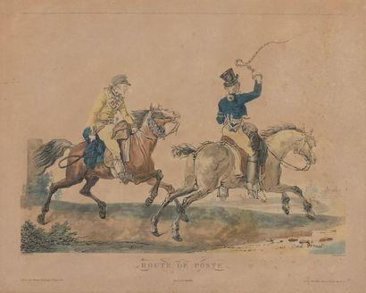 D'après Carle VERNET (Bordeaux,1756 - Paris,1836)...