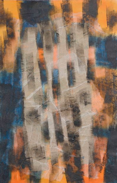 Lise LEBRETEUIL (XXe siècle).    Abstraction...