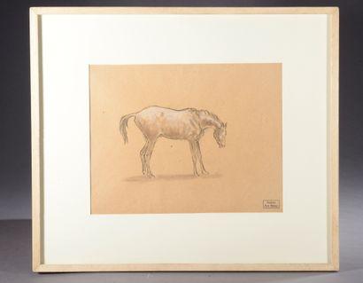 Ary-Jean-Léon BITTER (1883-1973).  Étude...
