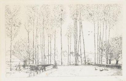 Jean-Émile LABOUREUR (1877-1943). L'entrée...
