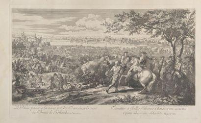 D'après Adam VAN der MEULEN (1632-1690)....