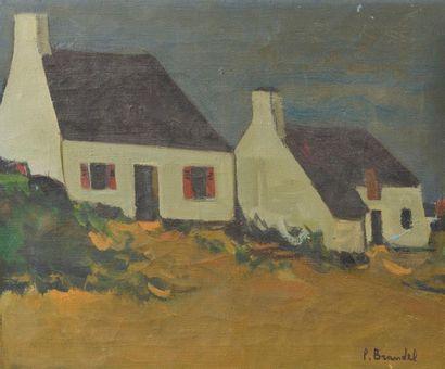 Pierre Louis BRANDEL (né en 1912). Maisons...