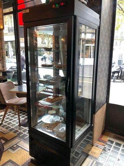 CAREL Armoire réfrigérée ouvrant par une porte, trois faces vitrées, thermostat...