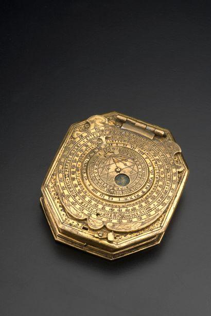 Georg KARL (Allemagne du Sud, actif à la fin du XVIe siècle).  Nécessaire astronomique...