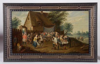 École flamande du XVIIIe siècle, suiveur...