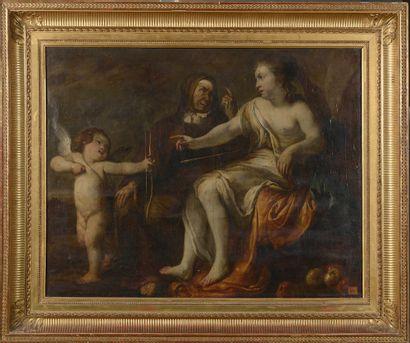 É́cole Hollandaise du XVIIe siècle, entourage...