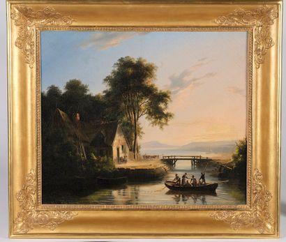 Charles Claude DELAYE (Paris, 1793 - 1848)....