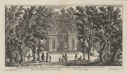 D'après Israël SYLVESTRE (Nancy, 1621 - Paris,...
