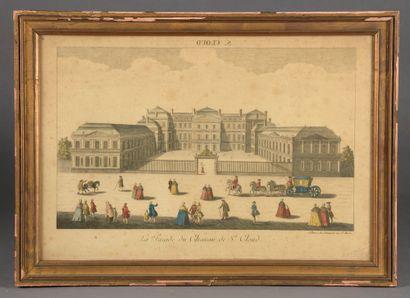 École Française du XVIIIe siècle gravée par...