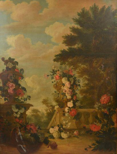 École Flamande du XVIIIe siècle, entourage...