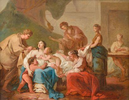École Française vers 1760, entourage de Jean...