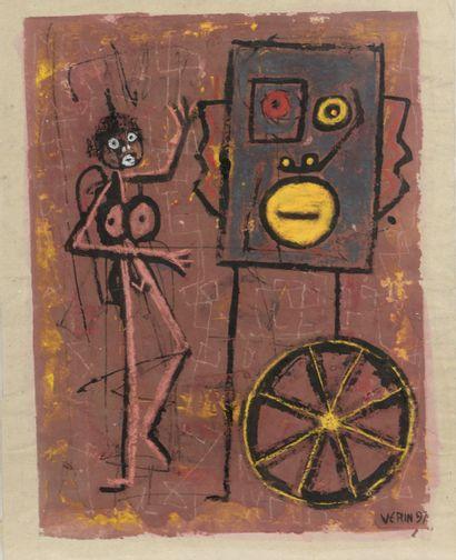 Noël VERIN (né en 1947).      Composition...