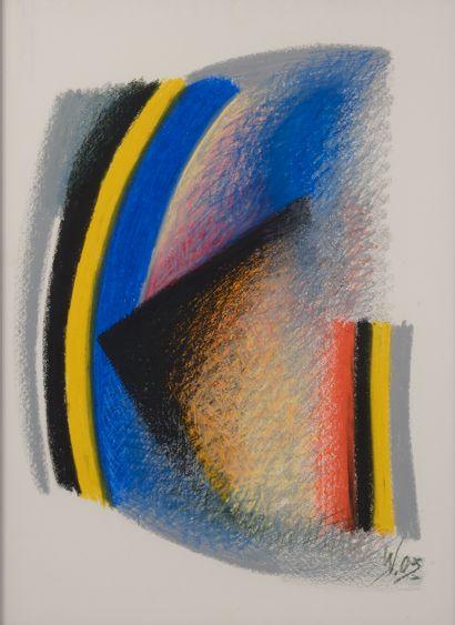 Iouri VICHNEVSKI (né en 1946).  Abstraction...