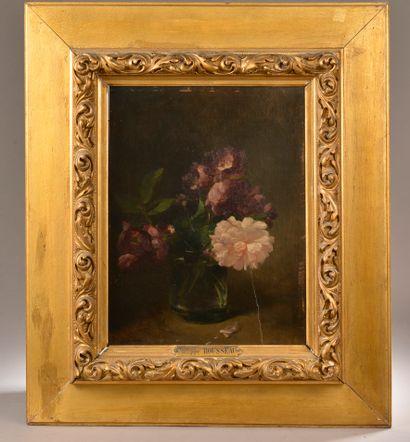 Philippe ROUSSEAU (1816-1887).  Bouquet de...