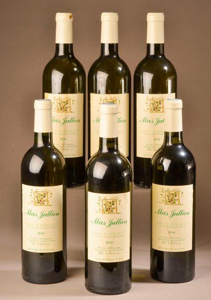 6 bouteilles VDP DE L'HÉRAULT, Mas Jullien...