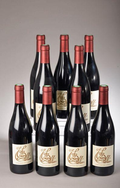 9 bouteilles TERRASSES DU LARZAC
