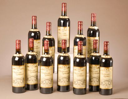 12 bouteilles PALETTE rouge, Château Simone...