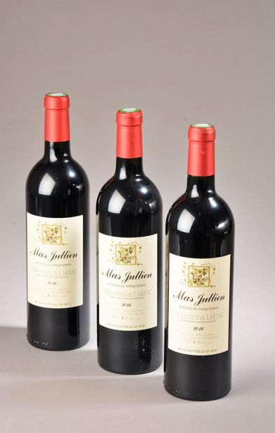 3 bouteilles TERRASSES DU LARZAC