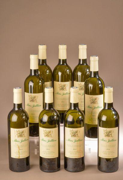 9 bouteilles VDP DE L'HÉRAULT, Mas Jullien...