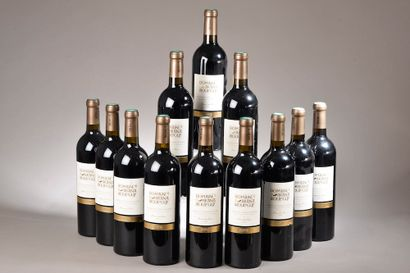 12 bouteilles IROULÉGUY Brana 2014 (roug...