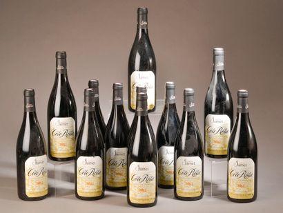 12 bouteilles CÔTE-RÔTIE Jamet 2013