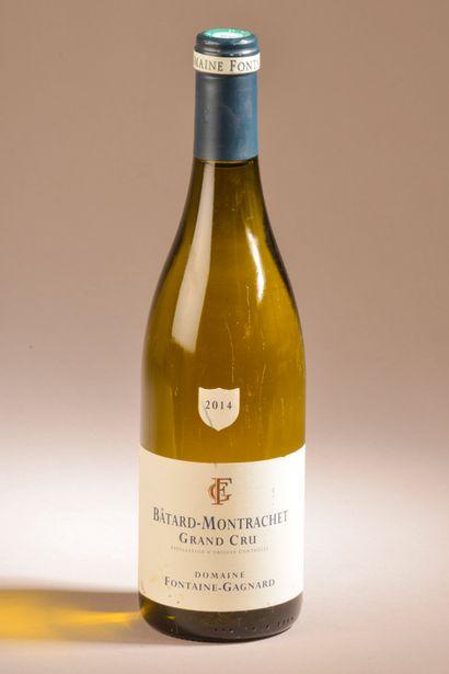 1 bouteille BÂTARD-MONTRACHET, Fontaine-Gagnard...