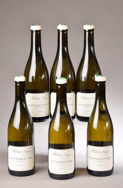 6 bouteilles SAINT AUBIN 1er cru