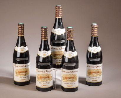 5 bouteilles CÔTE-RÔTIE